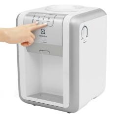[CASAS BAHIA] Bebedouro Electrolux Turbo Acqua WD20C Água gelada, natural e misturada 125W – Branco/Cinza