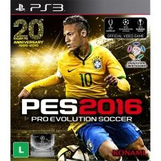 [Extra] Jogo Pro Evolution Soccer 2016-R$76,00