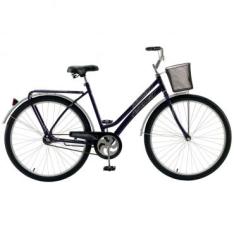 [WebContinental] Bicicleta Fischer Princess New Aro 26 Feminina Contra Pedal - Violeta