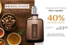 [Natura] Desodorante Colônia Ekos Copaíba Masculino 100ml - 53,90