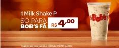 [Bob's] Milk Shake P do Bob's por R$ 4