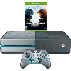 [Submarino] Console Xbox One 1TB + Game Halo 5: Guardians + Brindes/DLCs - Edição Limitada