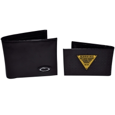 [CUT WAVE] Carteira Oakley Leather Couro Black ( Economia de R$ 80,00 )