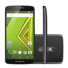 "[Carrefour] Smartphone Motorola Moto X Play 32GB Preto 4G Tela 5,5"" Câmera 21MP Android 5.1 - R$1.399"