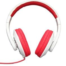 [SOU BARATO] Fone de Ouvido Smarts Supra Auricular Branco/Vermelho - por R$ 20
