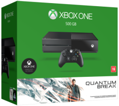 [Saraiva] Console Xbox One 500Gb Sem Kinect + Jogo Quantum Break - R$ 1.323,00