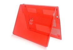 """[SARAIVA] Capa Geonav de Acrílico Vermelha P/ Proteção do Macbook Compatível C/ New Macbook Pro 15.4"""""""
