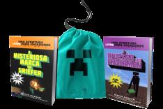 [Saraiva] Kit Minecraft com 2 livros + Sacola Exclusiva - R$24,40