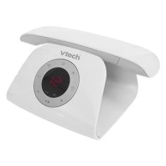 [EXTRA] Telefone Sem Fio Digital Vtech Retrô Phone W com Identificador de Chamadas, Viva-Voz e Secretária Eletrônica - Branco - R$284