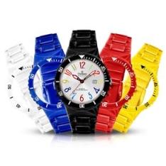[Shoptime] Relógio Unissex Analógico Champion Troca Pulseira - R$69,90