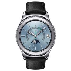 """[EFACIL] Galaxy Gear S2 Classic Platinum 1.2"""", 4GB, Bluetooth, Comando por Voz - Samsung  POR R$2325"""