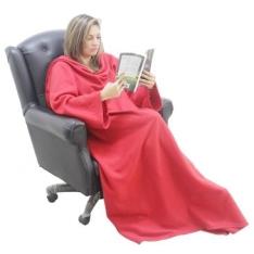 [Clube do Ricardo] Cobertor de TV com mangas Solteiro - R$35,90