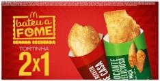 [Mc Donalds] Compre 1 Tortinha e leve 2 Pegue o Cupom