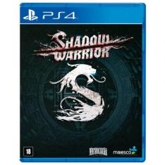 [Ricardo Eletro] Jogo Shadow Warrior - PS4 - R$54