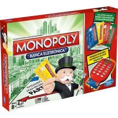 [Submarino]  Jogo Monopoly Cartão Eletrônico - Hasbro  por R$ 30