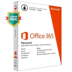 [Balão da Informática] Microsoft Office 365 Personal - R$ 46 (boleto)