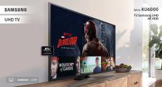 "[Submarino] - Smart TV LED 55"" Samsung UN55KU6000GXZD Ultra HD 4k com Conversor Digital 2 USB 3 HDMI 60Hz"