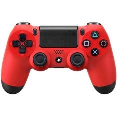 [Submarino] Controle Dualshock 4 Sony Vermelho - R$198,89