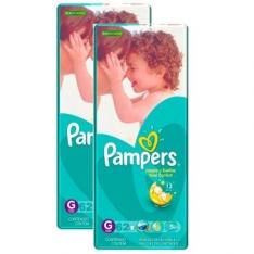 [Ricardo Eletro] 2 pacotes de Fraldas Pampers Total Confort (M,G ou XG) - R$94