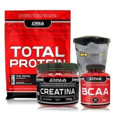 [Americanas] - Combo Academia - Whey Protein 1kg + Bcaa + Creatina
