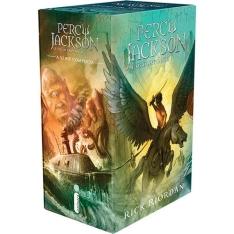 [Submarino] Box Percy Jackson e os Olimpianos - 5 Livros (Não é versão econômica)