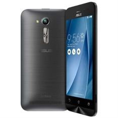 "[ÉFacil] Smartphone Zenfone Go, Dual Chip, Prata, Tela 4.5"", 3G+Wi-Fi, Android 5.1, 5MP, 8GB - Asus por R$460"