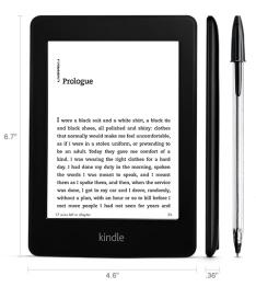 [Kabum] E-Reader Kindle Paperwhite, Wi-Fi, 4 GB Preto AO0456 -R$339