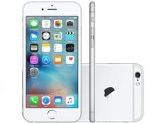 [MAGAZINE LUIZA] iPhone 6S Apple 128GB Prata 4G Tela 4,7 Retina - Câm 12MP + Selfie 5MP iOS 9 Proc. Chip A9 3D Touch