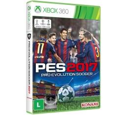 [kabum]  Pro Evolution Soccer 2017 (PES 2017) para Xbox 360 - R$144