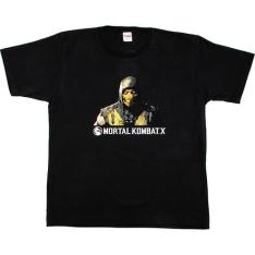 [Submarino] Camiseta Mortal Kombat X - R$ 12,66