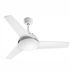 [Ricardo Eletro] Ventilador de Teto Air 130w de Potência, 3 Velocidades, 3 Pás com Luminária Branco - Britânia por R$ 135
