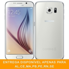 "[EFACIL] Smartphone Galaxy S6 Branco Tela 5.1"" 4G+WiFi, Android 5.0, Câmera 16MP, Memória 32GB - Samsung POR R$ 1674"