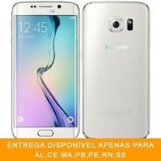 "[EFACIL] Smartphone Galaxy S6 Edge Branco Tela 5.1"" 4G+WiFi, Android 5.0, Câmera 16MP, Memória 32GB - Samsung POR R$ 1860"