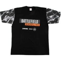 [Submarino] - Camiseta Battlefield Hardline Gola Preta - R$19,90