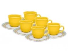 [Magazine Luiza] Conjunto de Xícara para Café 12 Peças - Oxford Daily Bilro por R$ 39