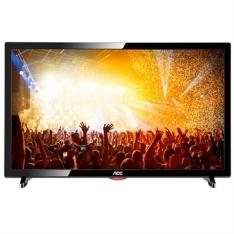 "[EFACIL] TV 19"" LED HD LE19D1461, 2 HDMI, 1 USB, VGA, Função Monitor - AOC POR R$ 604"