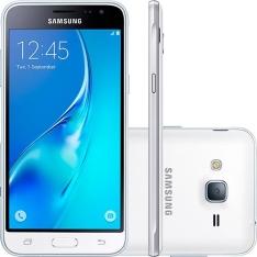 [Americanas] Smartphone Samsung Galaxy J3 Duos Dual Chip Android 5.1 4G Wi-Fi 1,5 GB RAM- Branco