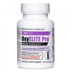 [clube do ricardo] Oxyelite Pro: 300mg de cafeína, auxilia na queima de gordura - 60 Cáps - Usp Labs - R$120