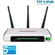 [Ricardo eletro] Roteador Wireless TP-Link TL-WR941ND com Velocidade de 300Mbps, Banda com Frequência 2.4GHz (11N), 3 Antenas Externas e 4 Portas LAN - R$120