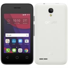 "[EFACIL] Smartphone PIXI4, 3.5'' Dual Chip, Preto/Branco, Tela 3.5"", 3G+Wi-Fi, Android 5.1, 5MP, 4GB, 2 Capas - Alcatel POR R$260"