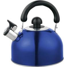 [Soubarato]Chaleira Azul com Apito VEC - R$26,99