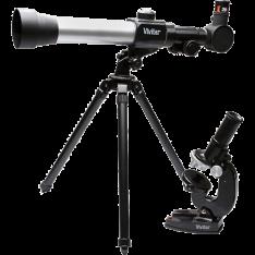 [SOU BARATO] - Kit Microscópio e Telescópio com lente 50 mm - R$100