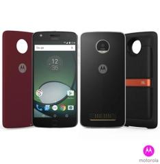"""[FASTSHOP] Moto Z Play Sound Edition Preto Motorola com Tela de 5,5"""", 4G, 32 GB e Câmera de 16 MP - XT1635 por R$ 2218"""