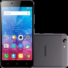 """[Sou Barato] Smartphone Lenovo Vibe K5 Dual Chip Android Tela 5"""" 16GB 4G Câmera 13MP - Grafite por R$ 700"""