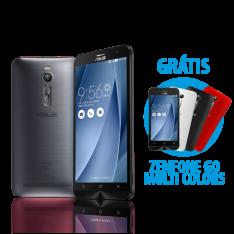 "[Asus] ASUS Zenfone 2 4GB/32GB Prata + Zenfone Go 4,5"" Multicolor"