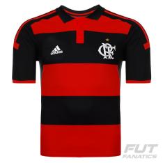 [Fut Fanatic] Camisa Adidas Flamengo I 2014 Jogador sem Patrocínio por R$ 104