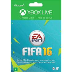 [Americanas]- XBOX live gold 12 meses + 1 mês de EA access - R$125