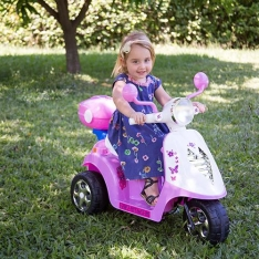 [Americanas] Moto Elétrica Infantil (4 cores disponíveis)  6V - brink+ - R$198