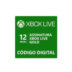 [Super Cahsback Méliuz] Assinatura Xbox Live Gold 12 meses a partir de R$70