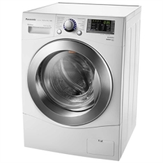 [EFACIL] Lavadora e Secadora de Roupas 10,2 Kg NA-S106F1WB Inverter Econavi e Espuma Ativa Branca - Panasonic  POR R$2977